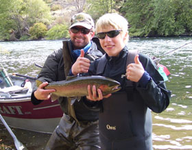 Deschutes river fly fishing guide trips river borne for Deschutes river fishing report