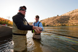Bend oregon fly fishing classes portland oregon fly for Fishing lessons near me